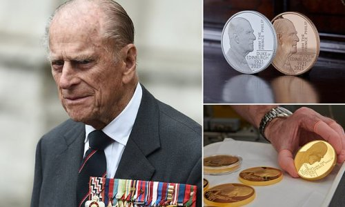 Special £5 coin to commemorate Prince Philip struck by Royal Mint