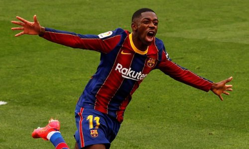Man United touch base with Ousmane Dembele as he winds down contract