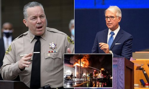 LA Sheriff says he has NO working relationship with DA