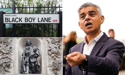 Sadiq Khan offers grants to Londoners to 'decolonise' street names