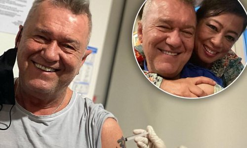 Jimmy Barnes 'didn't feel a thing' after getting his Covid-19 shot