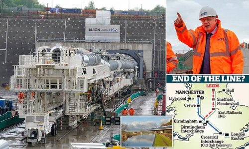 HS2's eastern link hits buffers as line to Leeds shelved amid costs