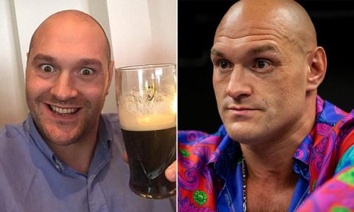 Tyson Fury 'ditches the booze for the good of his mental wellbeing'