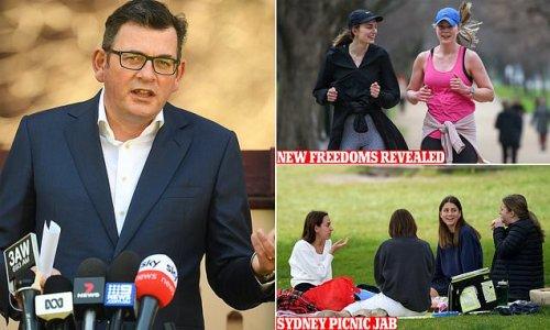 Dan Andrews takes dig at Sydney's freedom picnics