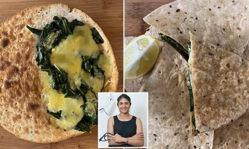 Doctor shares her simple recipe for an 'easy peasy' homemade gozleme