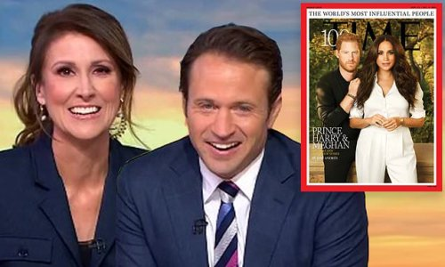 Harry and Meghan, Time 100: Sunrise host jokes about prince's hairline