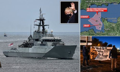 Boris sends gunboats into Jersey