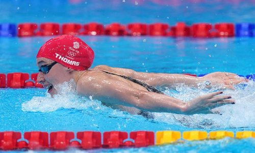 Alys Thomas qualifies for women's 200m butterfly final