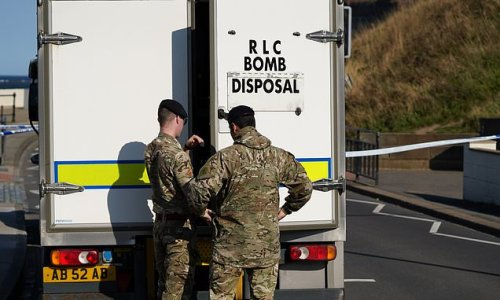 Major incident declared with roads closed after 'live' WW2 bomb found
