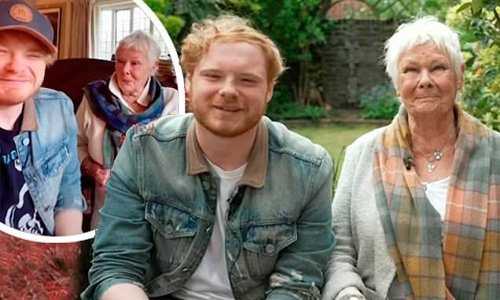 Judi Dench jokes grandson Sam is 'strict' about their TikTok videos