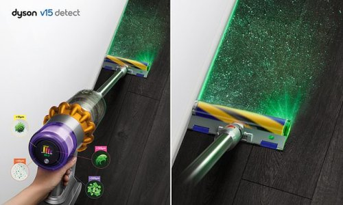 Dyson unveils new vacuum with a LASER that can detect hidden dust