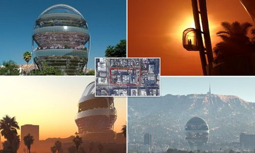 $500M building 'The Star' shaped like a sunset to go up in Hollywood