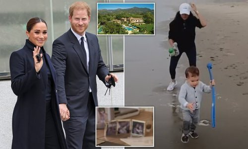 Prince Harry and Meghan Markle leave Archie and Lilibet back in LA