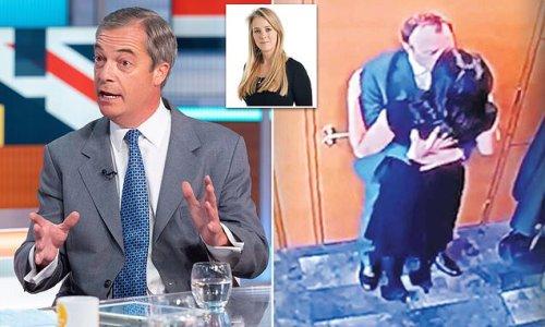 Nigel Farage denies he's anti-lockdown mole who leaked Hancock kiss