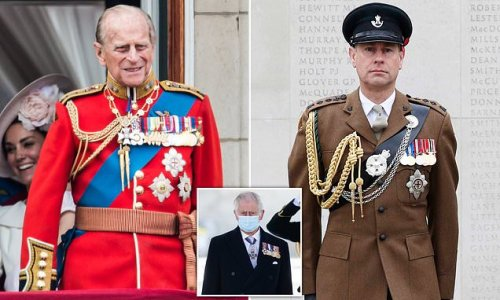 Edward will be Duke of Edinburgh but must wait until Charles is king