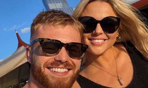 Emily Atack shares a sweet snap with boyfriend Jude Taylor