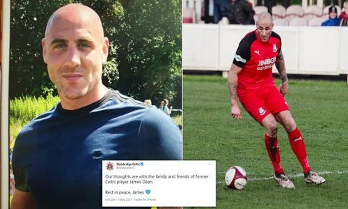 Tragedy as body of former footballer James Dean, 35, is found