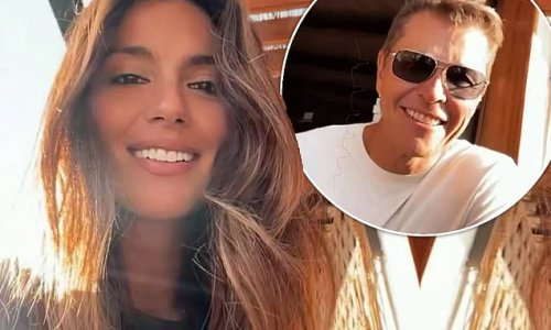Pia Whitesell enjoys a date night in Santa Monica with husband Patrick