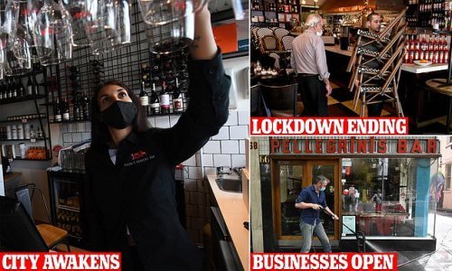 Freedom fever is in the air in Melbourne as lockdown lifts