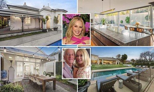 Melbourne's property market explodes as celebrity sales raise prices