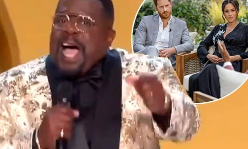 Cedric the Entertainer mocks Harry and Meghan while hosting the Emmys