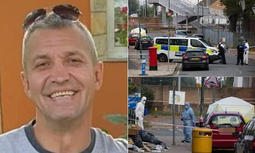Pictured: Lorry driver, 45, stabbed to death outside railway station