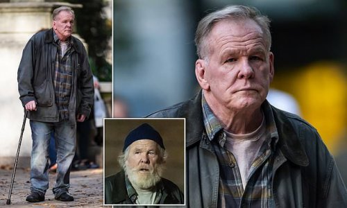 Nick Nolte looks almost unrecognizable after shaving his beard