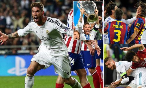 Here's Sergio Ramos' best and worst moments in a Real Madrid shirt