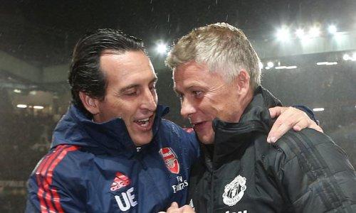 Unai Emery urges Man United to keep faith with Ole Gunnar Solskjaer