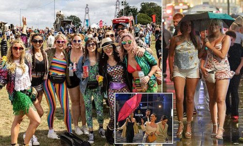 Festival goers enjoy day of better weather at Bestival