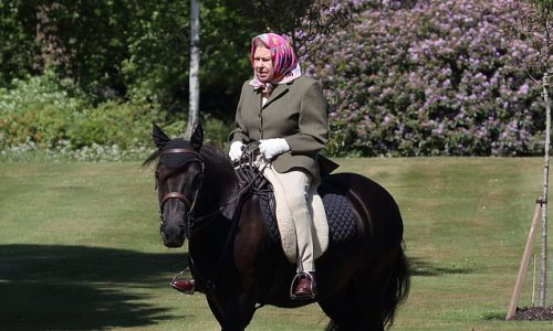 Queen forced to give up horse riding after suffering 'discomfort'