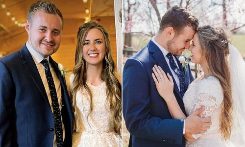 Counting On's Jed Duggar, 22, gets married 7 weeks after engagement