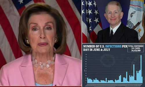Pelosi: Capitol Physician will decide if mask mandate is reimplemented