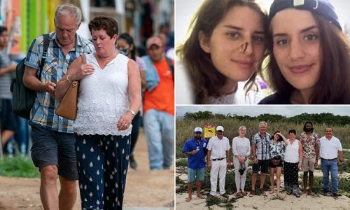 Brit, 28, saved by her twin sister from crocodile LEAVES hospital