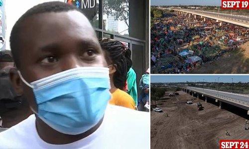 Haitian migrant abandons American Dream and will seek asylum in Mexico