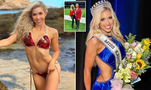 NFL heiress and pageant queen Gracie Hunt defends swimsuit competition