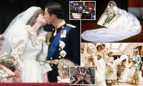 The codename given for Diana to keep her wedding gown under wraps