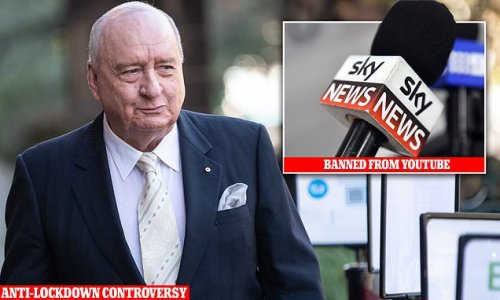 Sky News is BANNED from YouTube for posting Covid-denying videos