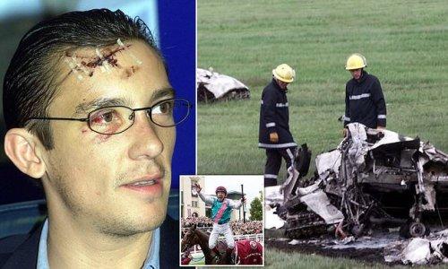 Frankie Dettori relives the horrifying episode of his plane crash