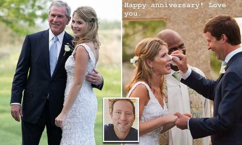 Jenna Bush Hager recalls moment George W. saw her on her wedding day