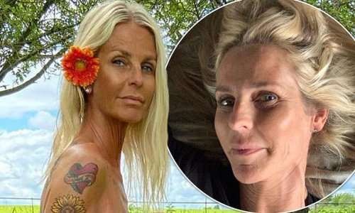 Ulrika Jonsson, 53, vows to 'OWN' her body after naked charity snap