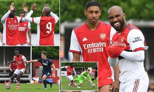 Arsenal 4-1 Millwall: Lacazette, Pepe,Balogun and Chambers on target