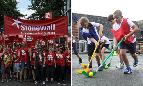 Now Stonewall urges teachers to not use the terms 'girls' and 'boys'