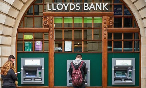 Lloyds Banking Group sees profits nearly double
