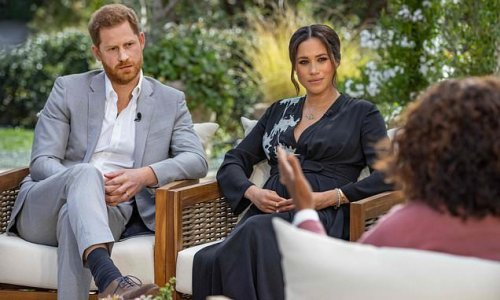 Harry and Meghan's Oprah interview bombshells - cover