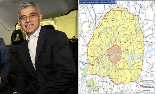 Sadiq Khan MUST delay ULEZ move until at least next year, Tories warn