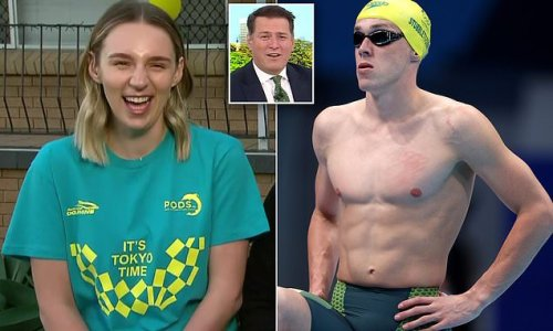 Stefanovic gushes over Olympic swimming champ Stubblety-Cook's 'rig'