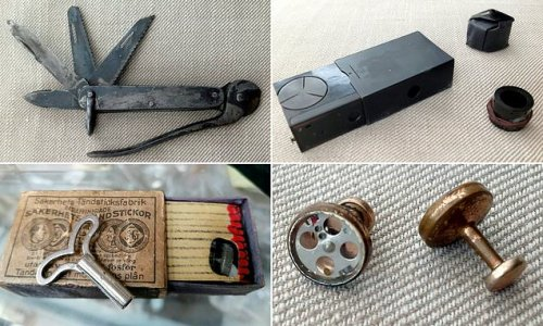 Gadgets used by British spies in WWII among tools up for sale