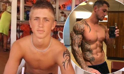 Dan Osborne reveals he received his first tattoo at the age of 14