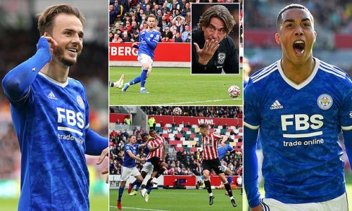 Brentford 1-2 Leicester: Maddison silences his critics with winner